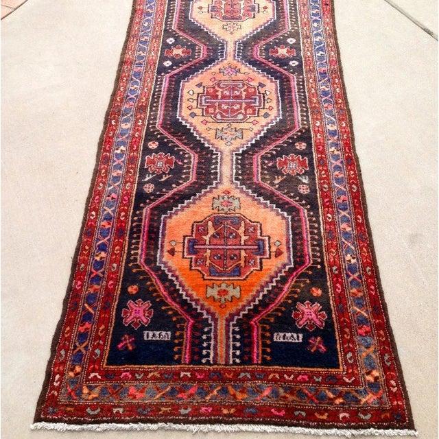 Colorful Vintage Persian Rug