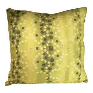 Kim Salmela Citrine Floral Pillow