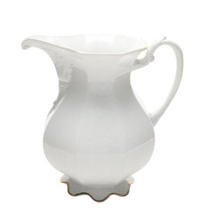 W.S. George Pottery Ironstone Pitcher