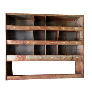 Vintage Industrial Factory Cabinet