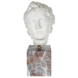 19th c. Bust of a Boy