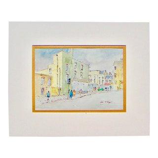 Hugh McKenzie London Street Scene Print