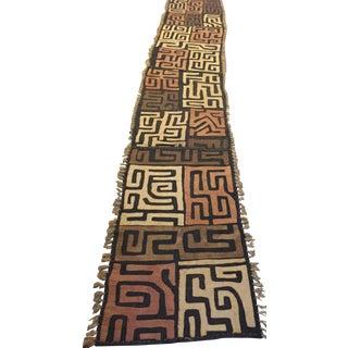 African Kuba Cloth Runner