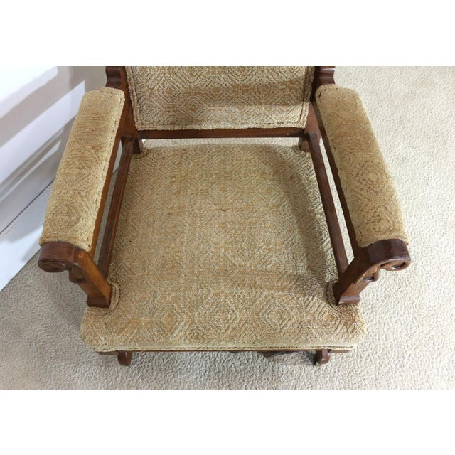 1880s Victorian Rocking Chair - Image 3 of 8