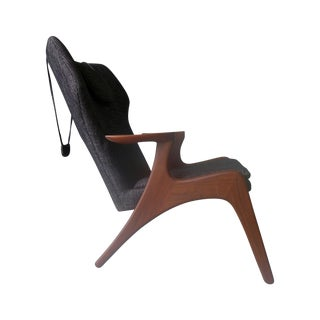 Mid-Century Modern-Style Lounge Chair