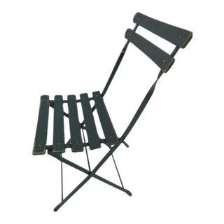 Folding Garden Chair in Kelly Green