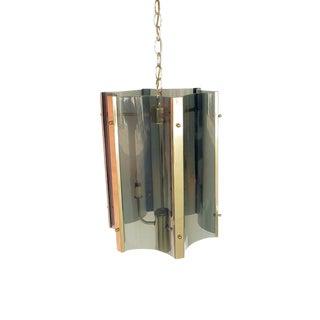 1970s Plexiglass Pendant