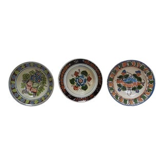 Antique Ceramic Bowls - Set of 3
