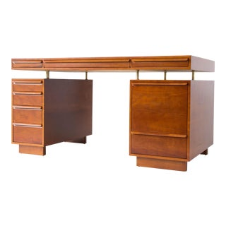 Edward Wormley for Dunbar Floating Top Partners Desk
