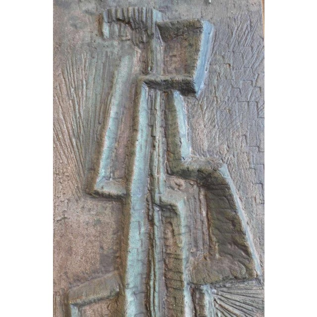 Abstract Bas-Relief by Lee Rosen - Image 1 of 4