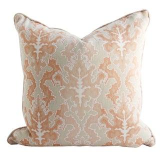 Modern Woven Ikat Pillow