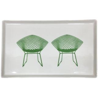 Bertoia Diamond Chair Canape Plate