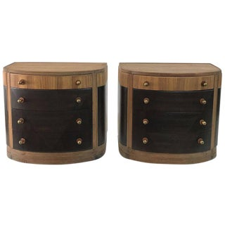Pair of Gentlemen's Chests in Macassar Veneer