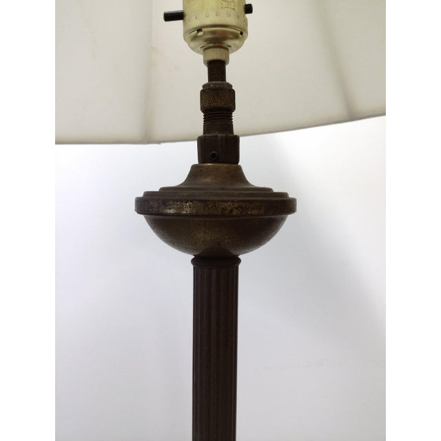 Phrase... Antique floor lamp column something also
