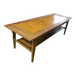 Mid-Century Wood Coffee Table