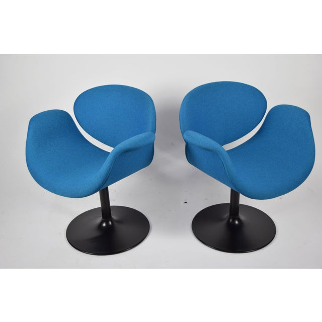 Pair of Little Tulip Chairs by Pierre Paulin for Artifort - Image 6 of 10