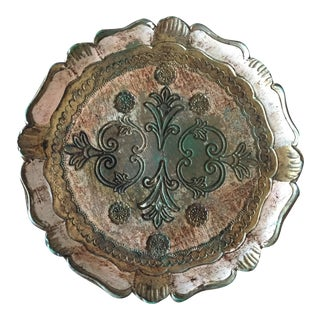Italian Florentina Decorative Tray