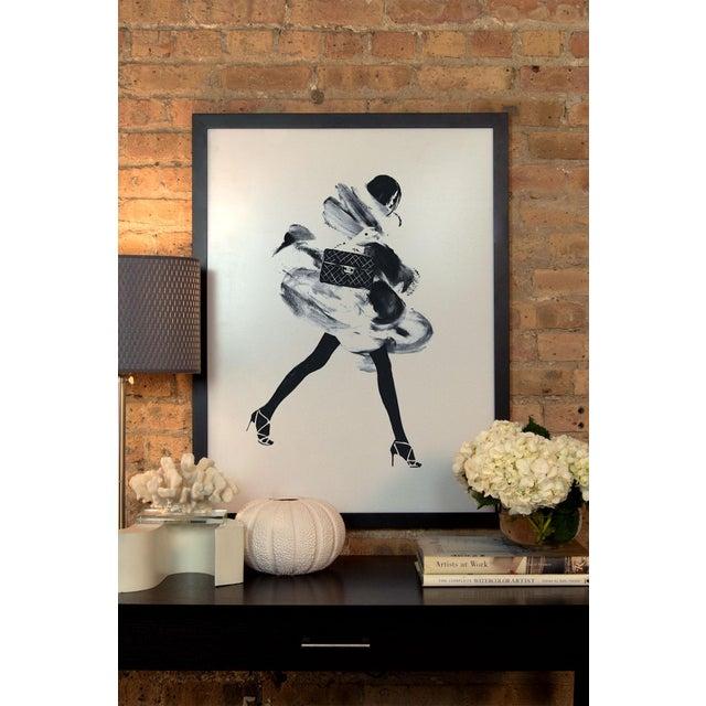 Image of Judith Van Den Hoek 'Running Late I' Framed Print