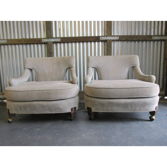 Billy Haines Style Vintage Lounge Chairs - A Pair - Image 2 of 10