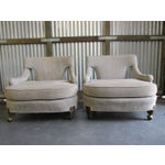 Image of Billy Haines Style Vintage Lounge Chairs - A Pair