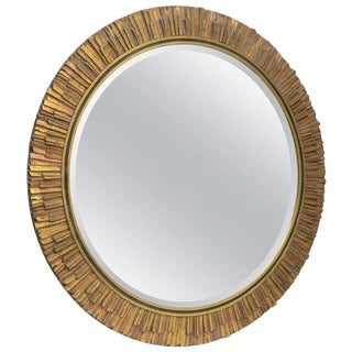Gilt Sunburst Mirror
