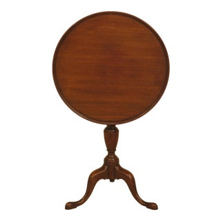 Kittinger Mahogany Colonial Williamsburg Candle Stand