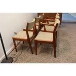 Image of Mid-Century Scandinavian Teak Dining Chairs - S/6