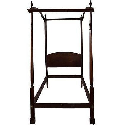 Image of English Canape Twin Bed Circa 1880