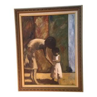 """""""Treasure"""" Oil on Canvas"""