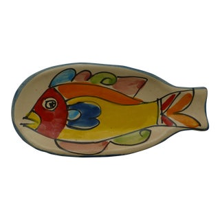 Mid-Century Italian Fish Spoon Rest