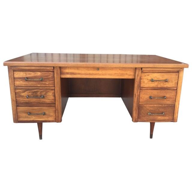 Image of Mid-Century Modern Executive Desk