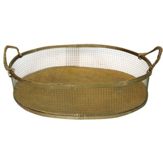 Rustic Primitive Wire Basket