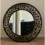Image of Kenneth Cobonpue Round Wall Mirror