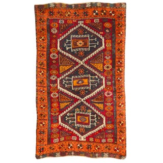 Antique Turkish Yuruk Rug