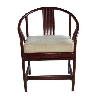 Ficks Reed Vintage Barrel Chair