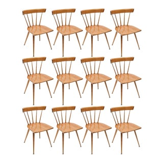 Set of 8 Paul McCobb Screw Planner Series Dining Chairs, 1950s, USA