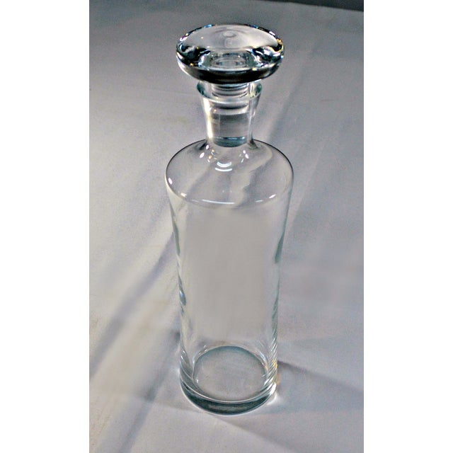 Clear Glass Liquor Decanter - Image 3 of 7