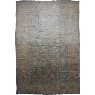"Hand Knotted Fine Oushak Rug - 17'2"" X 12'3"""