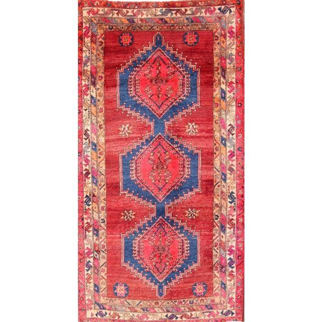 Ardebil Persian Runner Rug - 3′8″ × 7′4″ - Image 1 of 4