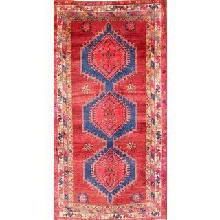 Ardebil Persian Runner Rug - 3′8″ × 7′4″