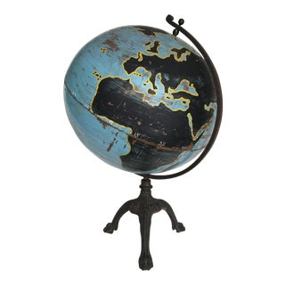 Aviation Globe on Iron Base