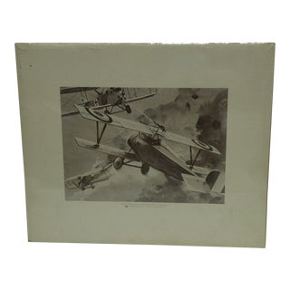 Vintage Aircraft Aviation Print
