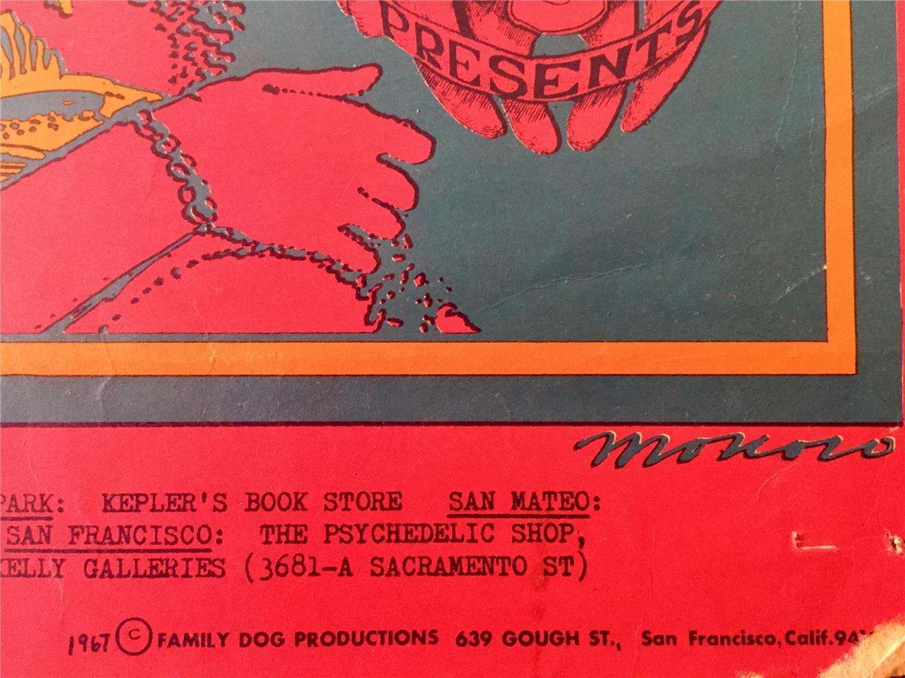 Moby Grape 1967 San Francisco Rock Poster   Image 5 Of 6