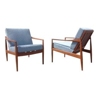 Mid-Century Danish Teak Chairs - A Pair