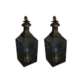 Moroccan Hanging Lamps - A Pair
