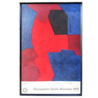 Rare 1972 Munich Olympics Original Lithographic Poster