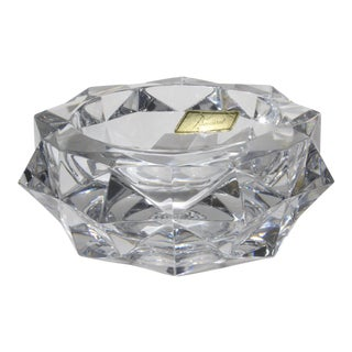 Baccarat Crystal Art Glass Bowl