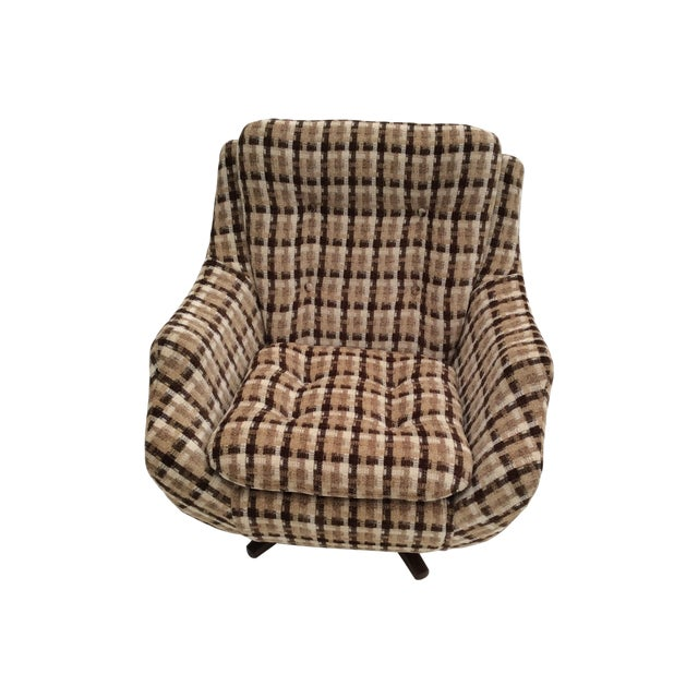 Parker Knoll Swivel Chair - Image 1 of 9