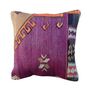 Purple Turkish Kilim Pillow