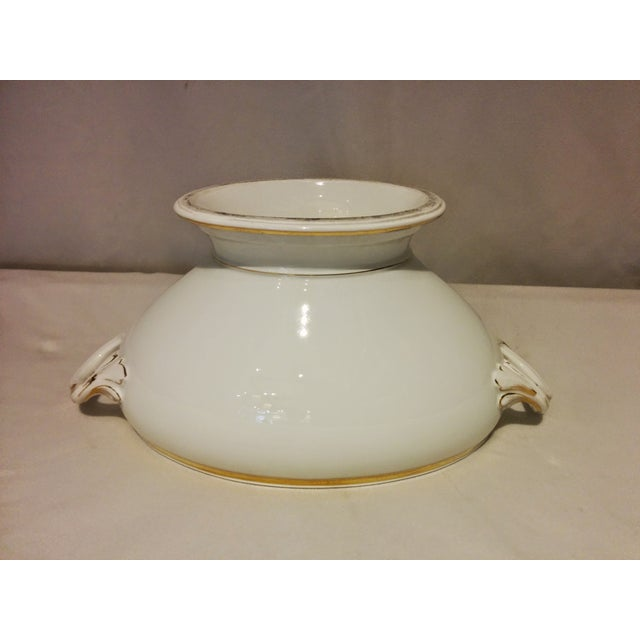 Limoges Porcelain White & Gold Tureen - Image 6 of 10